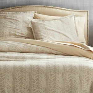 Crate & Barrel Ellis 1 King Size Pillow Sham NEW